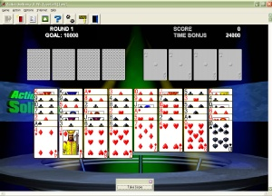 FreeCell from Action Solitaire