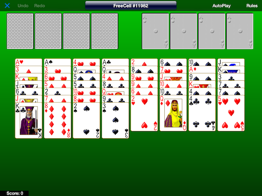 are all freecell solitaire games winnable
